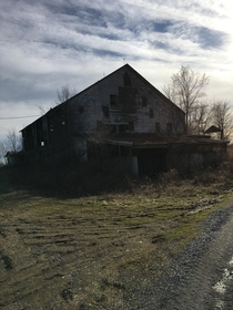 Abandoned dairy farm central Pennsylvania