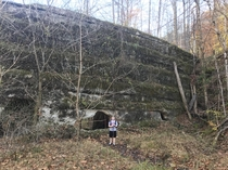 Abandoned dam Spencer WV Easily accessible via maintained public trails