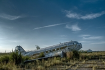 Abandoned DC aircraft in rural Missouri