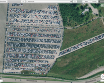 Abandoned Diesel Volkswagens as seen in Apple Maps Many more in comments