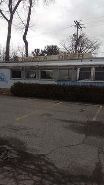 Abandoned diner in Albany NY Photo Denise Lynne