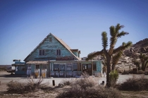 Abandoned dinermotel deep in the mojave high desert located outside Lancaster CA Very popular movie set so its kept nice