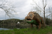 Abandoned Dinosaur Park in Arkansas