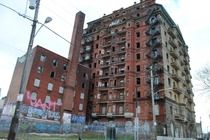 Abandoned Divine Lorraine Hotel -