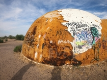 Abandoned domes in Arizona