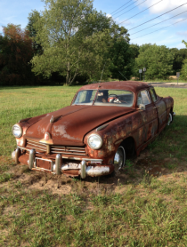 Abandoned Double Sided Car