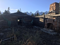 Abandoned Dude Ranch Jackson WY