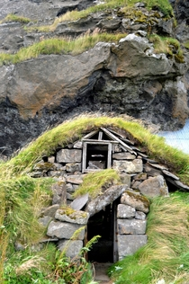 Abandoned Elf house in Iceland