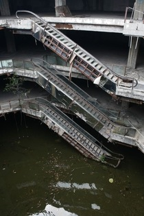 Abandoned Escalators in Bangkok