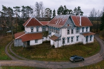 Abandoned estate in central Russia Built in end of XIX - beginning of XX century