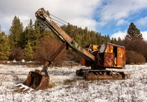 Abandoned Excavator in Washington