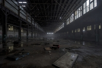 Abandoned factory in Dunkirk NY  by wombat