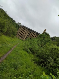 Abandoned factory in Halifax UK