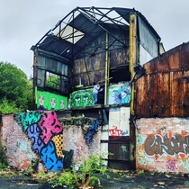 Abandoned Factory near Loxley Fishery