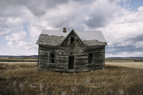 Abandoned farm house in Idaho