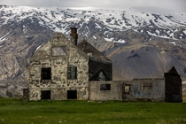 Abandoned farm house in West Iceland