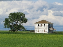 Abandoned Farm House near Kronau Saskatchewan