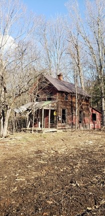 Abandoned Farm house Potash Road Lake Luzerne NY