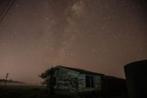 Abandoned Farm House Under the Stars Australia