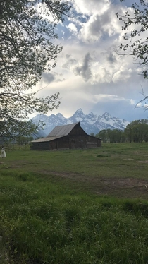 Abandoned farm in Jackson Hole