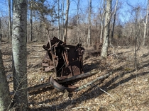 Abandoned Farm Machinery - Perry Preserve North Stonington CT