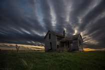 Abandoned farm near Oldham South Dakota  Photo by Aaron J Groen