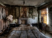 Abandoned Farmhouse Bedroom Location Unknown USA