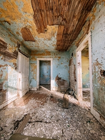 Abandoned farmhouse in Idaho