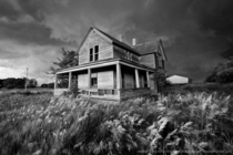 Abandoned Farmplace in Concordia Kansas by Stephen Locke