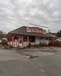 Abandoned Fast Food Restaurant