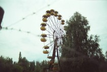 Abandoned ferris wheel in Pripyat  Album of pictures from our trip to Chernobyl amp Pripyat in comments
