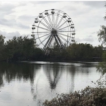 Abandoned Ferris Wheel Six Flags over New Orleans No filters this day natural light only