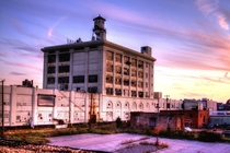 Abandoned FFV Cookie Factory at Sunset Nov   Richmond VA