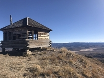 Abandoned Fire Lookout Jackson WY