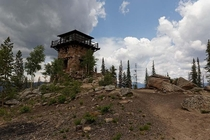 Abandoned Fire Lookout Shadow Mountain CO