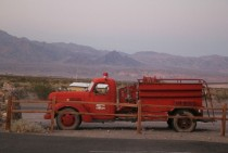 Abandoned Firetruck in Death Valley