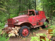 Abandoned Firetruck in the Ghost Town of Jawbone Flats - Oregon Photo by Cheryl