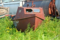 Abandoned fishing boat in Superior WI