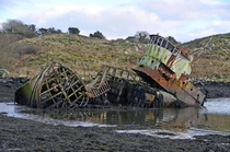 Abandoned fishing boat West Cork Ireland posted a similar one yesterday found this one too