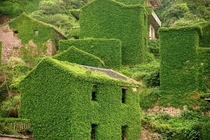 Abandoned Fishing Village on Gouqi Island China