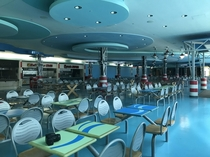 Abandoned food court