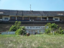 Abandoned Football Stadium in Brno Czech Republic