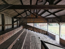 Abandoned FootballRugby Ground in Burton-upon-Trent UK More Images in Comments