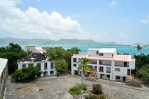 Abandoned for over  years Caribean luxury resort French St Martin