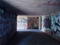 Abandoned fort near Boston sorry for quality