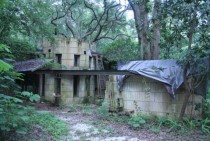 Abandoned Frank Lloyd Wright design only FLW residence in Florida x