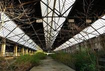 Abandoned freight station in Germany where the Love Parade disaster happened - more photos in comments