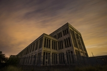 Abandoned Fremantle power station after sunset Photo by Matthew Schneider