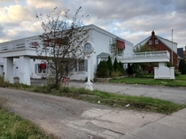 Abandoned funeral home Southern Ontario Canada
