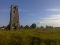 Abandoned Fur Farm Watchtower in Estonia